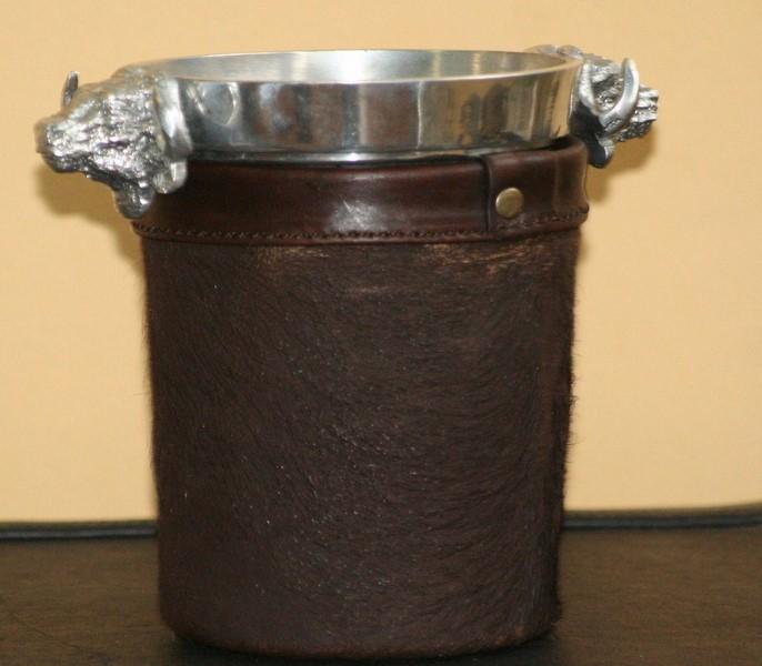 Buffalo Scrotum Ice Bucket