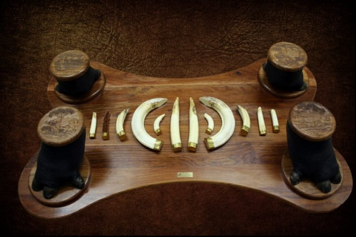 Feet and Tusk Coffee Table Base