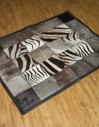 Gameskin Patchwork Rug