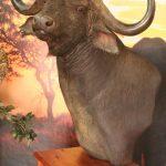 Custom Buffalo Pedestal